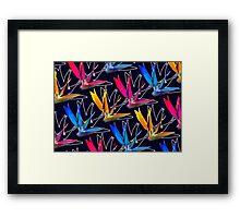 -Paradise Flower- Framed Print
