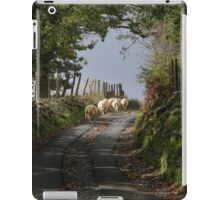 Rural Scene With Sheep iPad Case/Skin