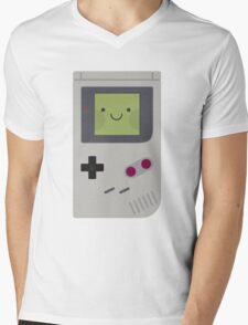 Game Boy Classic Kawaii Mens V-Neck T-Shirt