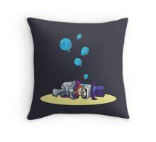 Bender the magician  Throw Pillow
