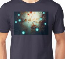 Spooky Tree and Pumpkin Unisex T-Shirt