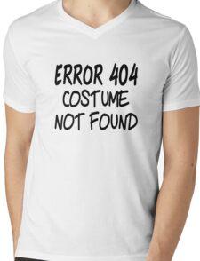 Error 404 Costume Not Found Mens V-Neck T-Shirt