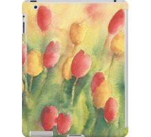 Red and yellow tulips iPad Case/Skin