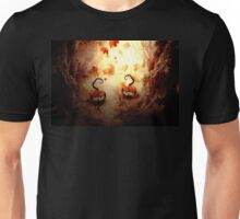 Spooky Tree and Pumpkins Unisex T-Shirt
