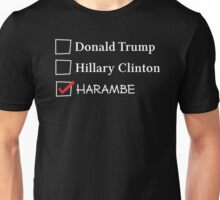 Vote for Harambe! Unisex T-Shirt