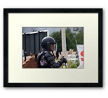 War Horse III - Tarqui Protest Framed Print