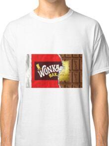 Willy Wonka Golden Ticket Classic T-Shirt