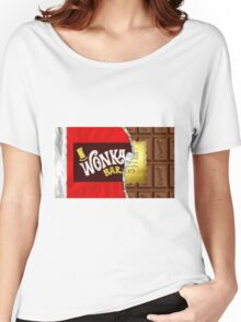 Willy Wonka Golden Ticket Women's Relaxed Fit T-Shirt