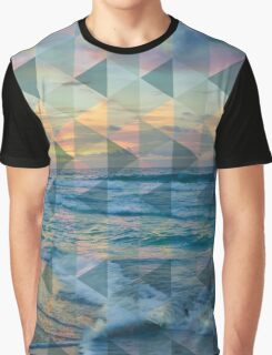 Beach mosaic Graphic T-Shirt