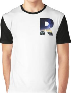 R Star Night Graphic T-Shirt