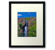 Wasserfall in Litchfield Park, Australien Framed Print