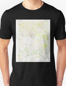 USGS TOPO Map Arkansas AR Newark 259231 1962 24000 Unisex T-Shirt