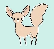 Fennec Fox by Zoe Lathey