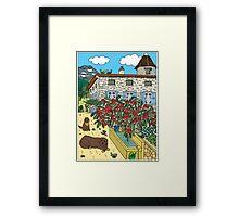 Beautiful Farm of Brigaudière v2 Framed Print