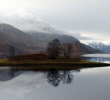 Reflections on Loch Leven by trish725