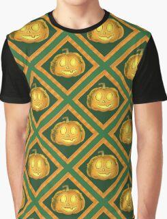 Wally Pumpkin Halloween Jack-o'-Lantern Graphic T-Shirt