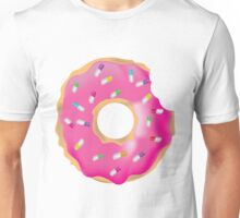 Pink Molly Donut Unisex T-Shirt