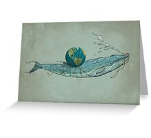Save the Planet II Greeting Card