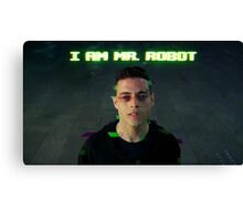 I AM MR. ROBOT Canvas Print