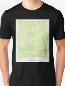 USGS TOPO Map Arkansas AR Reader 259479 1970 24000 Unisex T-Shirt