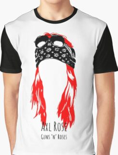 Axel Red Graphic T-Shirt
