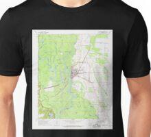 USGS TOPO Map Arkansas AR Clarendon 258201 1968 24000 Unisex T-Shirt
