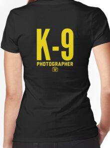 K-9 Photographer Women's Fitted V-Neck T-Shirt
