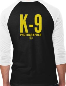 K-9 Photographer Men's Baseball ¾ T-Shirt