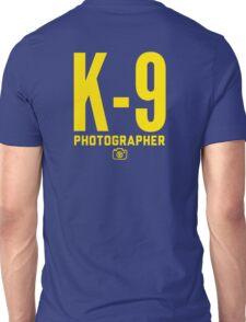 K-9 Photographer Unisex T-Shirt