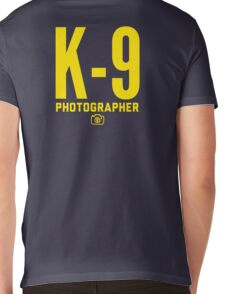 K-9 Photographer Mens V-Neck T-Shirt