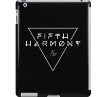 Fifth Harmony Official 7/27 Merch #3 ( White Text ) iPad Case/Skin