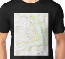 USGS TOPO Map Arkansas AR Laconia 258878 1982 24000 Unisex T-Shirt