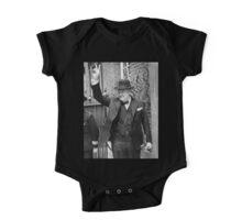 Winston, Churchill, British prime minister, V sign, Victory, 1943, WWII One Piece - Short Sleeve