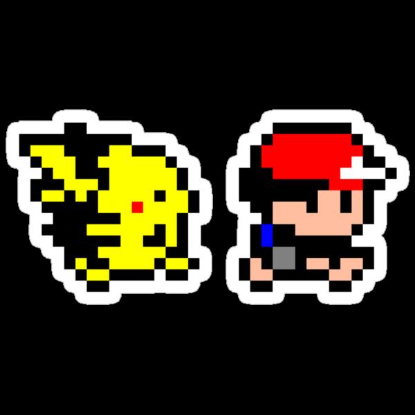 Ash and Pikachu by Ryan Wilson