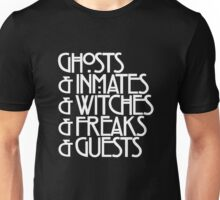 Ghosts & (White) Unisex T-Shirt