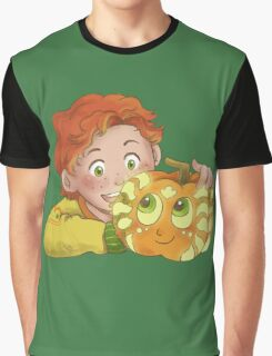 Wally Pumpkin and Tyler Graphic T-Shirt
