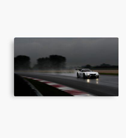 Rainy race Canvas Print