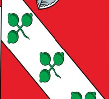 Harvey Coat of Arms (Donegal, Ireland) Sticker