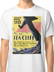 Vintage poster - Sea Cliff Classic T-Shirt