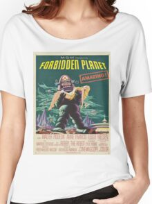 Vintage poster - Forbidden Planet Women's Relaxed Fit T-Shirt