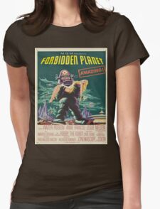 Vintage poster - Forbidden Planet Womens Fitted T-Shirt