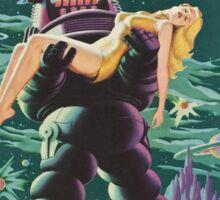 Vintage poster - Forbidden Planet Sticker