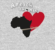 Africa On My Mind. Womens Fitted T-Shirt