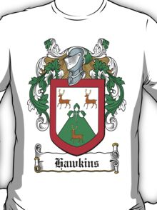 Hawkins Coat of Arms (Wexford) T-Shirt