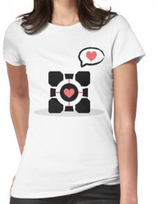 Your Companion <3 Womens Fitted T-Shirt