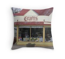 Country Corner Store Throw Pillow