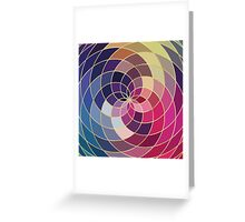 Buntes abstraktes Muster Greeting Card