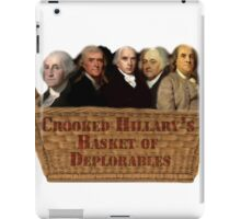Crooked Hillary Basket Of Deplorables iPad Case/Skin