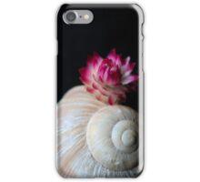 Hermit flower iPhone Case/Skin