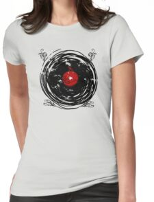 Enchanting Vinyl Records Vintage Twirls T-Shirt